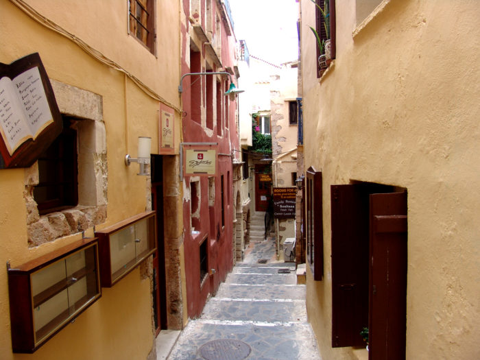 Picturesque Alleys of Chania Old City